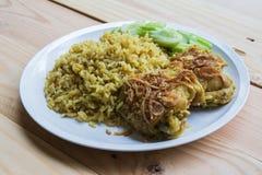 De Arabische rijst van het Halalvoedsel Royalty-vrije Stock Foto