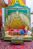 De Arabische slaapkamer Stock Foto's
