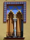 De Arabische Stijl van het venster Stock Foto
