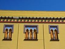 De Arabische stijl van vensters Royalty-vrije Stock Foto