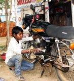 De arbeid van het kind in India Stock Afbeelding
