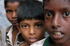 De Arbeid van het kind in India. stock foto's