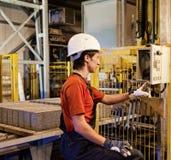 De arbeider van de fabriek royalty-vrije stock fotografie