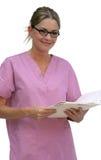 De Arbeider van de gezondheidszorg Stock Fotografie