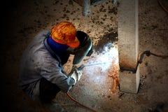 De arbeider van de zware industrie Stock Foto's