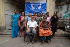 De Arbeider van het geslacht in Kolkata Royalty-vrije Stock Foto