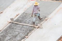 De arbeiders pleisterden Stock Fotografie