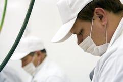 De arbeiders van de fabriek Royalty-vrije Stock Fotografie