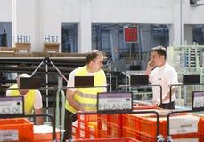 De arbeiders van de fabriek Royalty-vrije Stock Foto's