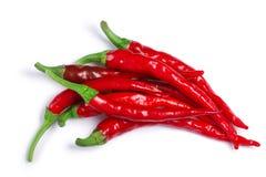 De Arbol i Cayenne chilies, ścieżki, odgórny widok obraz stock