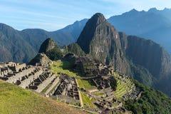 De archeologische plaats van Machupicchu, Peru royalty-vrije stock foto's