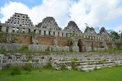 De Archeologische Plaats van Uxmal royalty-vrije stock afbeeldingen