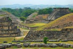 De Archeologische Ruïnes van Gr Tajin, Veracruz, Mexico Stock Afbeelding