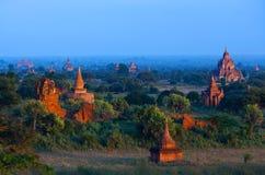 De archeologische streek van Bagan, Myanmar Royalty-vrije Stock Foto's