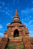 De archeologische streek van Bagan, Myanmar Royalty-vrije Stock Afbeeldingen