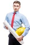 De architect is een echte man& x27; s beroep Stock Fotografie