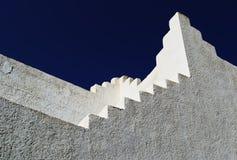 De architecturale bouw in de Oosterse stijl Royalty-vrije Stock Fotografie