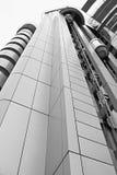 De architecturale Buiten Industriële Bouw Royalty-vrije Stock Foto