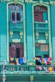 De architecturale details van Havana Cuba Stock Afbeelding