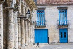 De architecturale details van Havana Cuba Royalty-vrije Stock Afbeelding