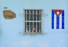 De architecturale details van Havana Cuba Stock Afbeeldingen