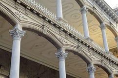De Architecturale Details van het Paleis van Iolani stock fotografie