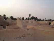De Architecturale Intelligentie van Ghadames-Stad Stock Foto