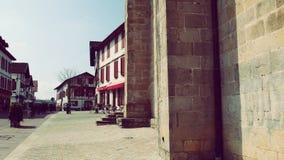 De Architectuur Baskisch Land van Urrugnefrankrijk Royalty-vrije Stock Fotografie