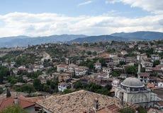 De architectuur van de ottomane/huizen Safranbolu Stock Foto's