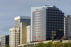 De Architectuur Tacoma Van de binnenstad Washington Northwe van bureaugebouwen Stock Fotografie