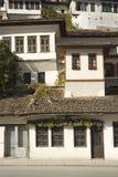 De architectuur van Albanië van Berat royalty-vrije stock foto's