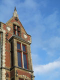 De architectuur van Amsterdam stock fotografie