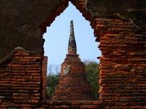 De architectuur van Ayuthaya Royalty-vrije Stock Fotografie