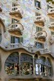 De architectuur van Barcelona Stock Afbeeldingen