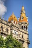 De Architectuur van Barcelona stock fotografie