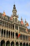 De architectuur van Brussel Stock Afbeelding