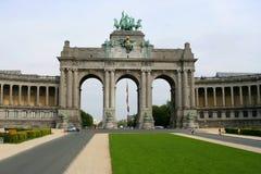 De architectuur van Brussel stock fotografie