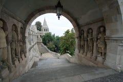 De architectuur van Budapestan Stock Foto's