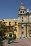 De architectuur van Cartagena DE Indias. Colombia stock foto's