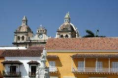 De architectuur van Cartagena DE Indias. Colombia Royalty-vrije Stock Afbeelding