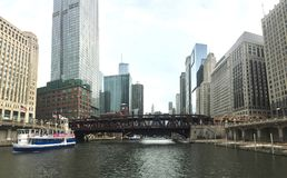 De Architectuur van Chicago royalty-vrije stock fotografie