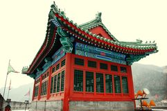 De architectuur van China Royalty-vrije Stock Foto