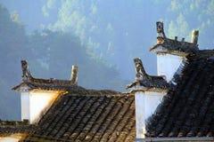 De architectuur van China Huizhou Royalty-vrije Stock Foto's