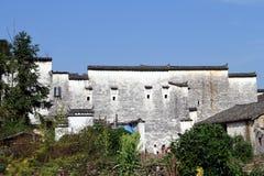 De architectuur van China Huizhou Stock Afbeelding
