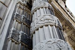 De architectuur van Cleveland royalty-vrije stock foto's