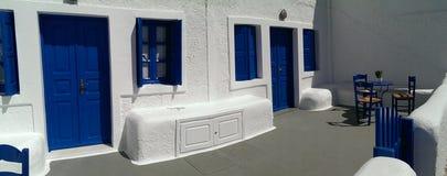 De Architectuur van Cycladen stock foto's