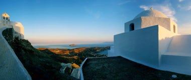 De architectuur van Cycladen op Serifos-eiland royalty-vrije stock foto's