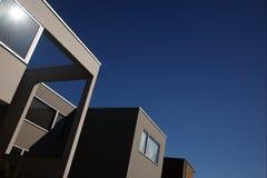 De architectuur van de Bauhausstijl Royalty-vrije Stock Fotografie
