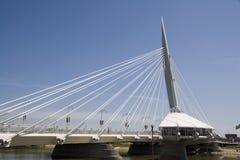 De architectuur van de brug Stock Afbeelding