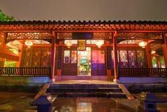 De architectuur van de Chinees-stijl Stock Foto's